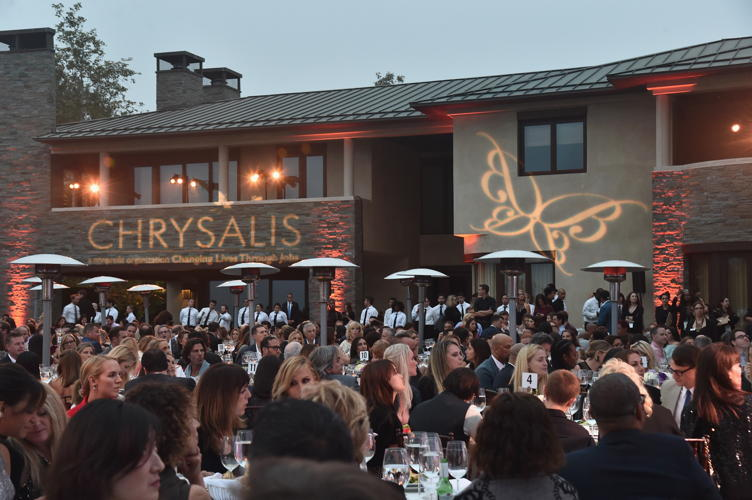 A view of the atmosphere at the 16th Annual Chrysalis Butterfly Ball on June 3
