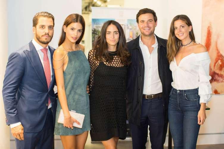 Andres Fanjul Jr., Marcela Braga, Felicia Marquez, Daniel de la Vega, Lauren Fitzpatrick