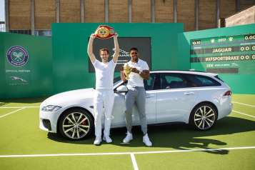 Andy Murray Jaguar XF Sportsbreak