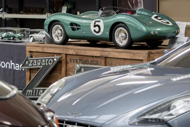 Bonhams Aston Martin auction includes cars and memorabilia