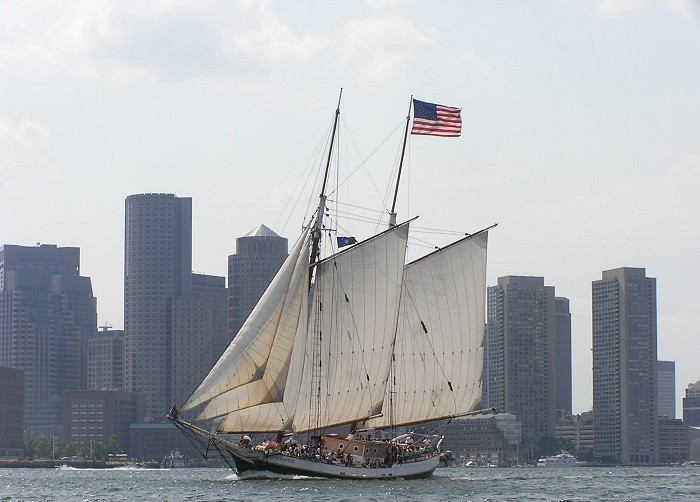 Boston's Tall Ships