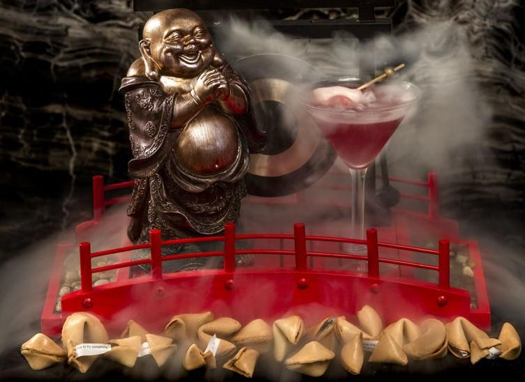 Buddhalicious 2.0-Pear Vodka Nitro Martini at Barton G.