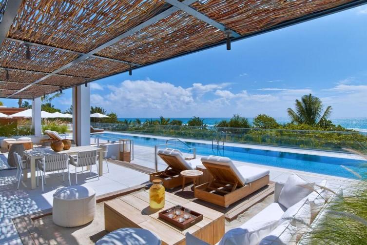 Cabana Pool - 1 Hotel South Beach