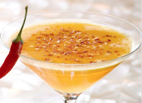 Chili passion fruit Martini jaya