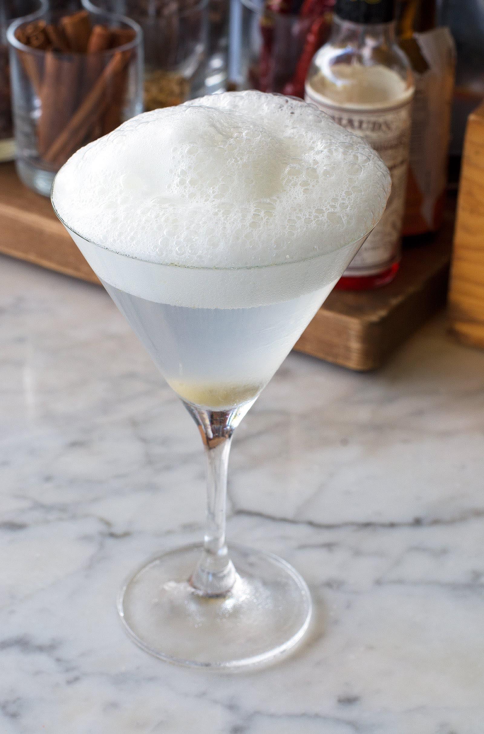 Clean & Dirty Martini - The Bazaar by José Andrés at SLS South Beach