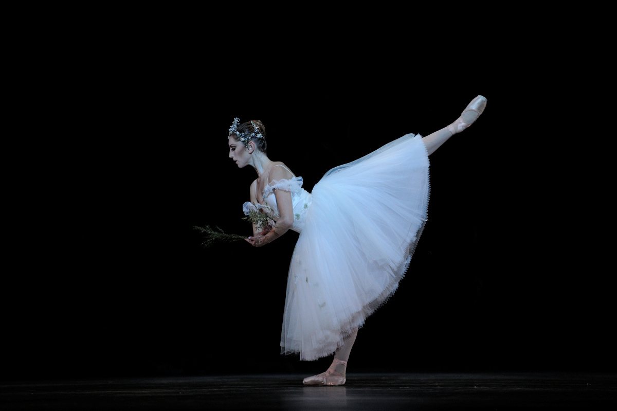 Stahl in Tomasson's Giselle