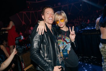 Hakkasan_Shaun White and Sarah Barthel_Photo Credit Joe Janet 1