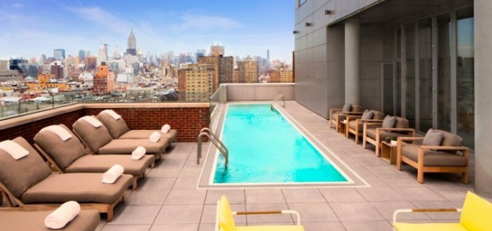 The Most Fabulous Hotel Pools In New York