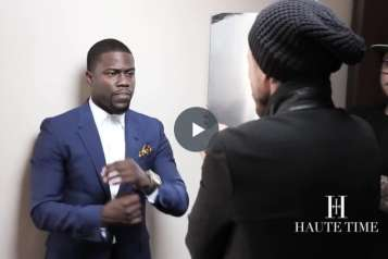 Kevin Hart Cover Shoot for Haute Time