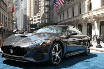 Maserati GranTurismo Model Year 2018 at NYSE_June 27 2017