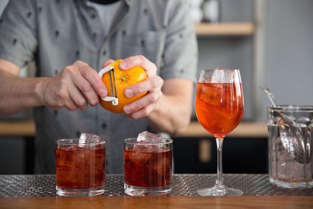 Negronis at ABV