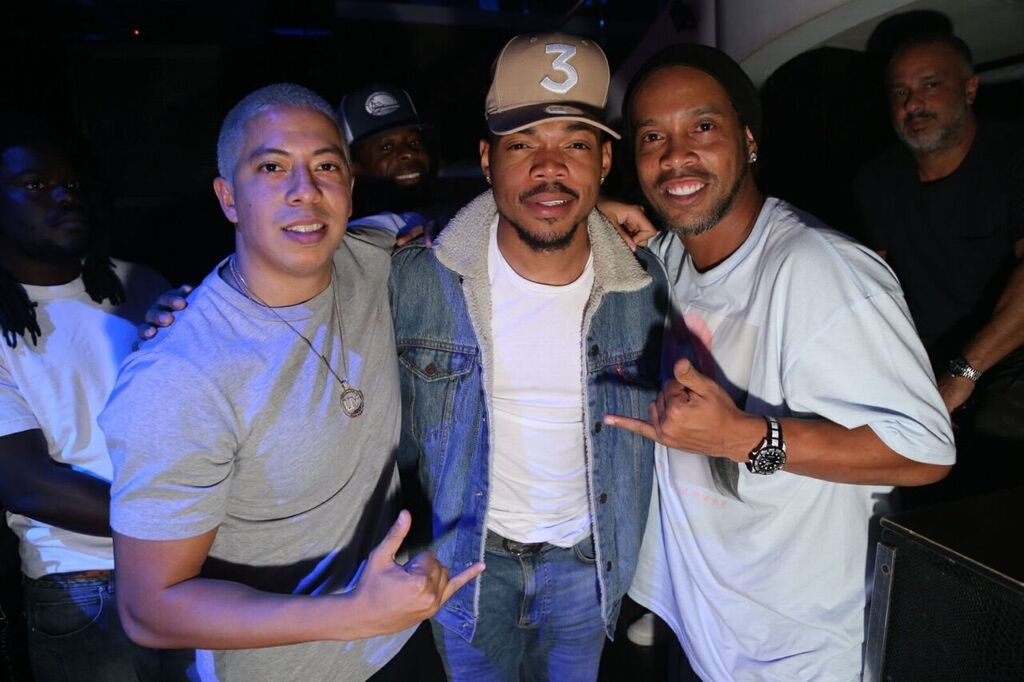 Purple, Chance the Rapper, Ronaldinho