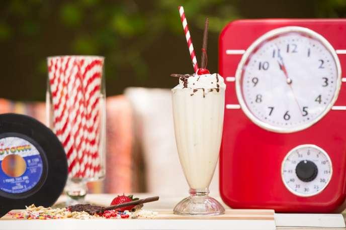 Nikki Beach milkshake
