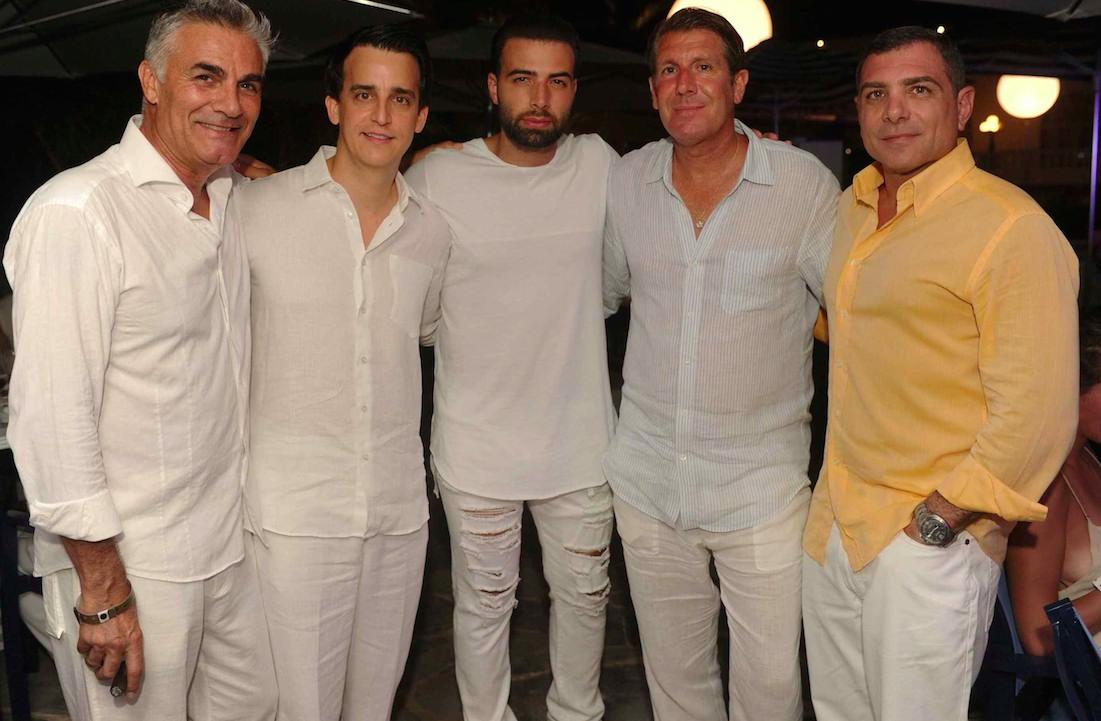 Eric Milon, Andro Nodarse Leon, Jencarlos Canela, Michael Capponi and Antonio Misuraca1