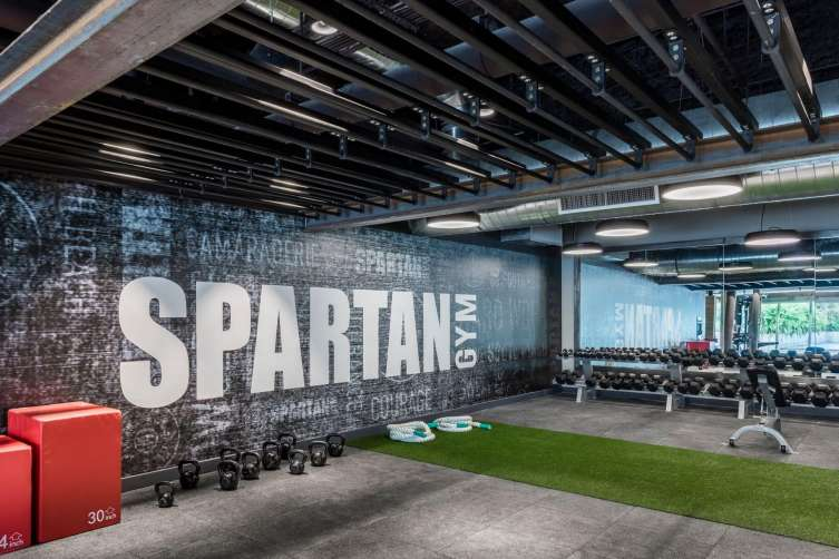 Spartan Gym at The 1 Hotel