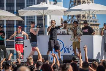 Swae Lee Celebrates 24th Birthday at Drai's Beachclub Las Vegas During SremmLife Sundays 6.11.17_Andrew Dang_11