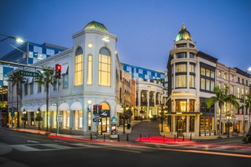 Two Rodeo Drive – Photo Credit Beverly Hills Conference & Visitors Bureau