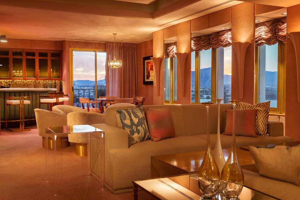 The Jackie Gaughan Suite at the El Cortez Hotel & Casino