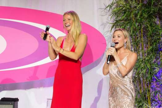 Gwyneth Paltrow at the fifth annual Hamptons Paddle & Party for Pink, where she was host of the evening gala.