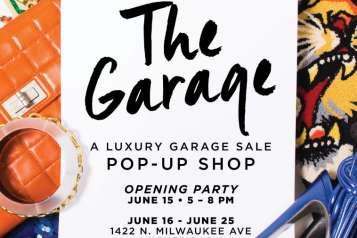 luxury garage sale pop up