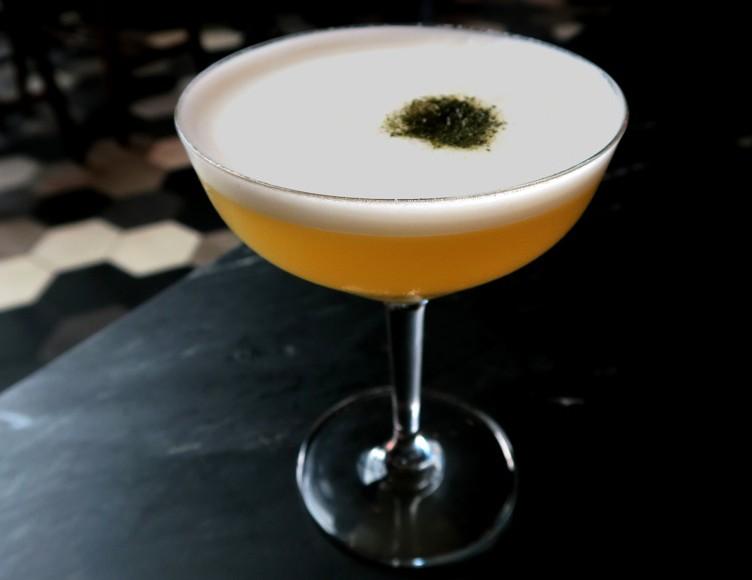 Pina Colada with Scotch at Otium