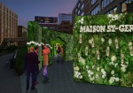 Lily Kwong's Floral Installation With Maison St-Germain Debuts on The High Line