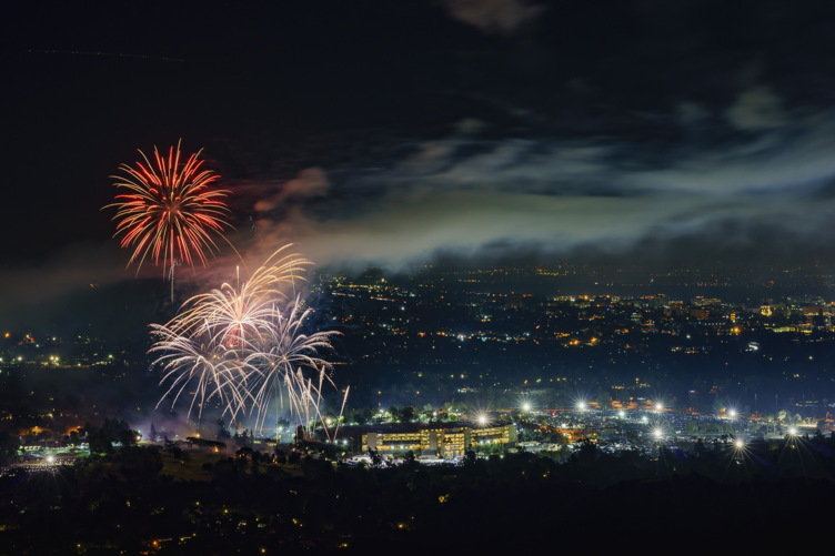 Fireworks over L.A.