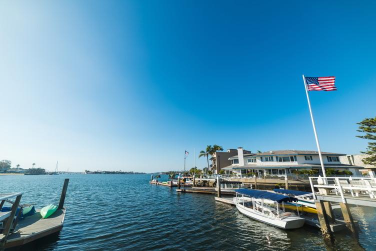 Balboa Island Harbor