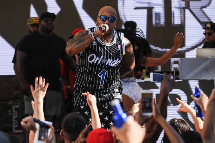 Flo Rida at the Hard Rock Hotel.