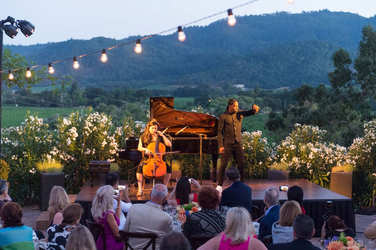 A performance at last year's Festival Napa Valley
