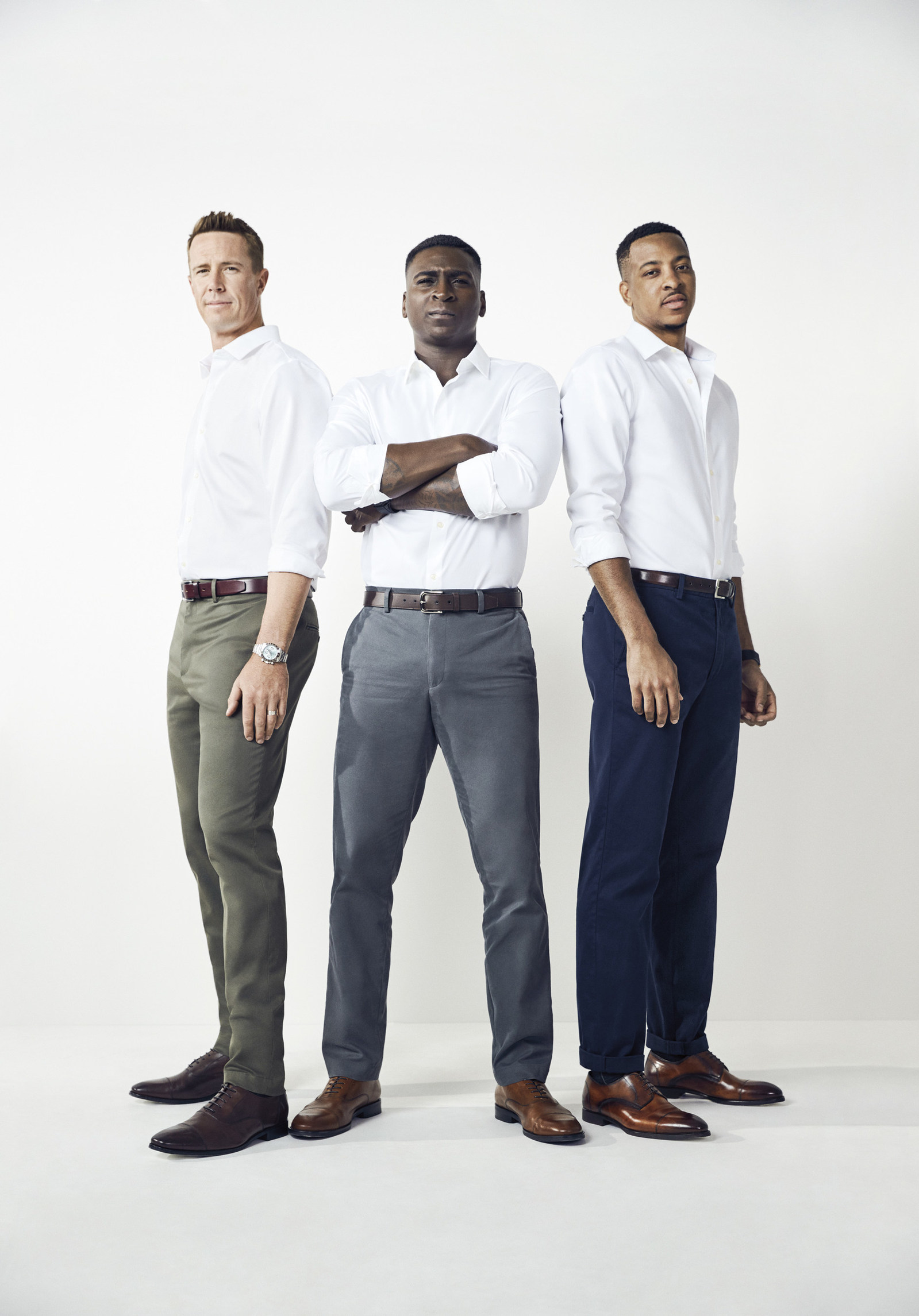 Banana Republic Men's Style Council debuts first ad campaign for Fall 2017 featuring the new Banana Republic Rapid Movement Chinos.