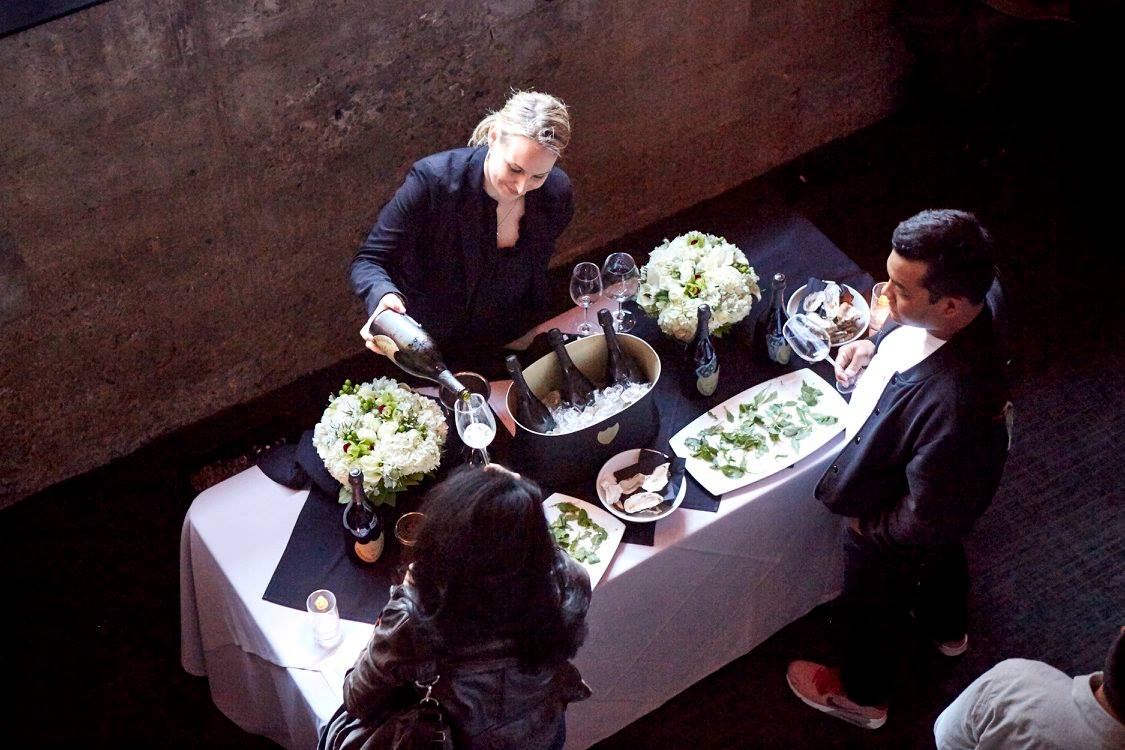 The Champagne flowed at the party the Caviar Co. hosted last year on National Caviar Day at 25 Lusk