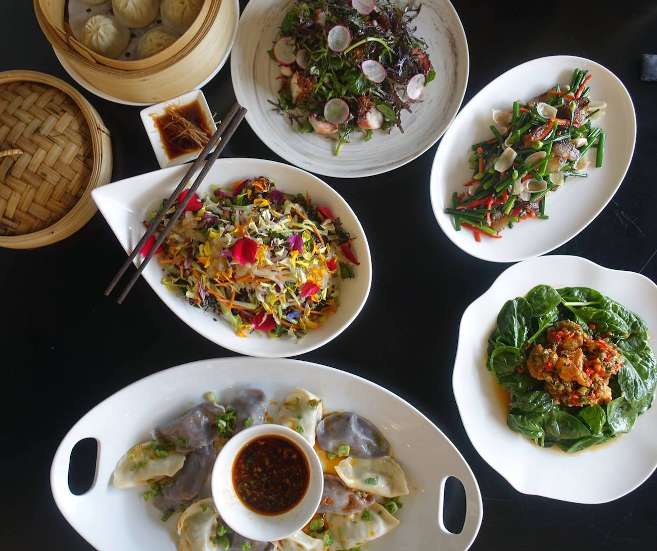 China Live offers a wide variety of Asian cuisine