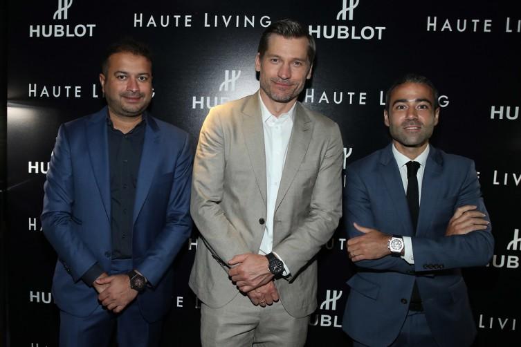 Kamal Hotchandani, Nikolaj Coster-Waldau and Jean Francois Sberro