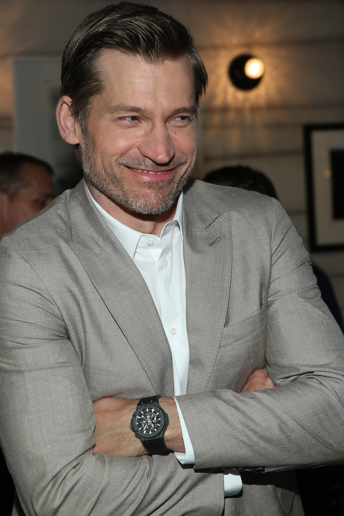 Nikolaj Coster-Waldau and Hublot