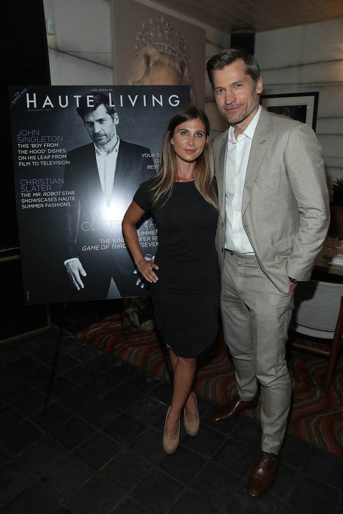 Laura Schreffler and Nikolaj Coster-Waldau