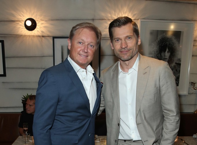 Henri Fisker and Nikolaj Coster-Waldau