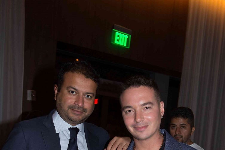 J  Balvin and Kamal Hotchandani