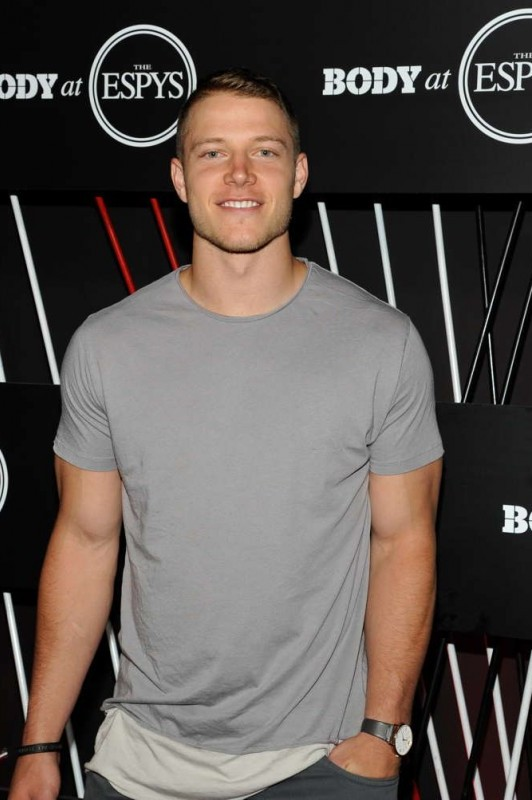 NFL player Christian McCaffrey