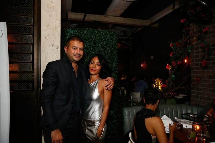 Kamal Hotchandani & Jada Pinkett Smith