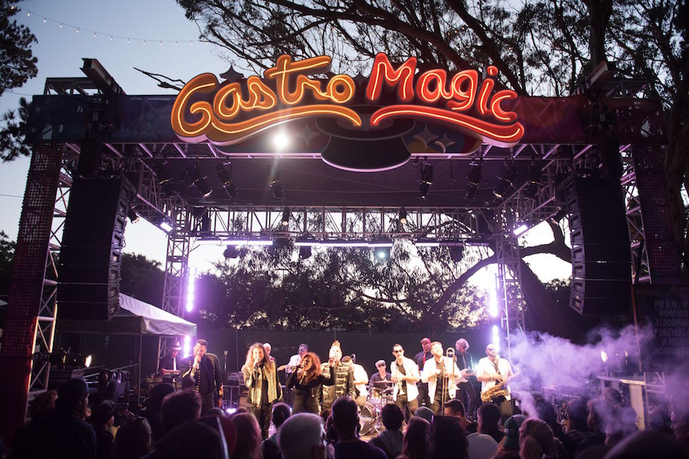 The GastroMagic stage