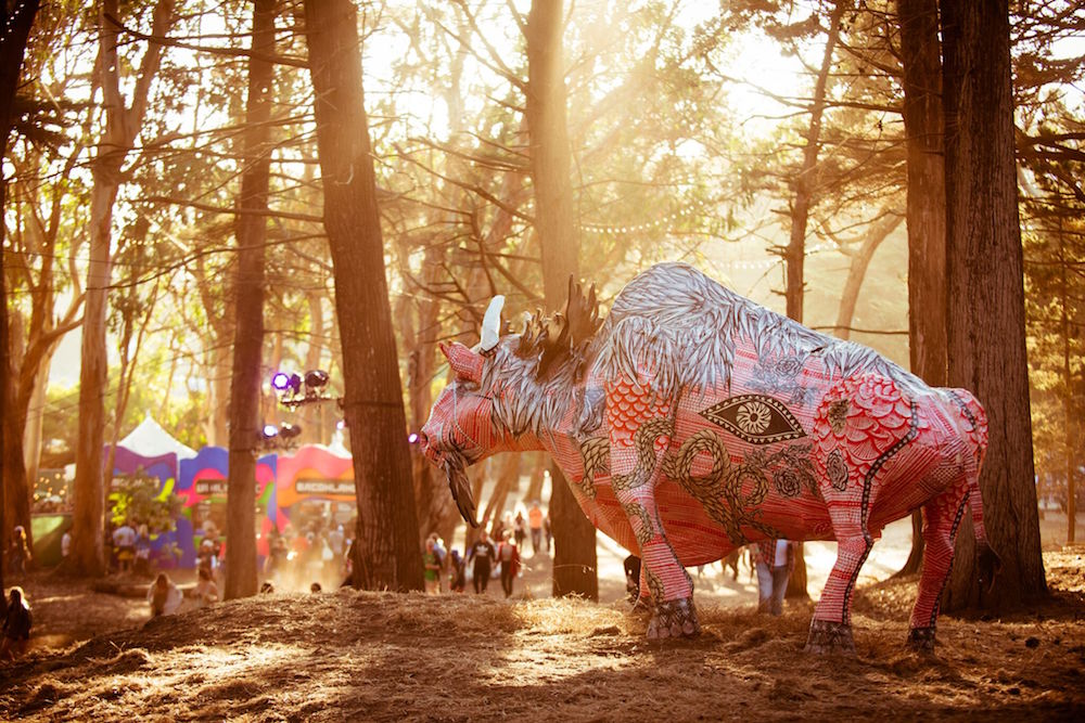 Golden Gate Park fills up with eclectic artwork during the festival