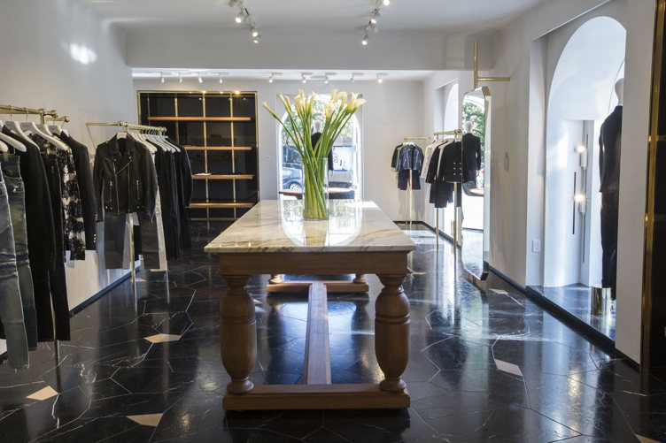 Chatting With Olivier Rousteing at Balmain's First New York Store. May 10, PM. where tubidyindir.ga caught up with the designer. And selling is the name of the game at Balmain. At.