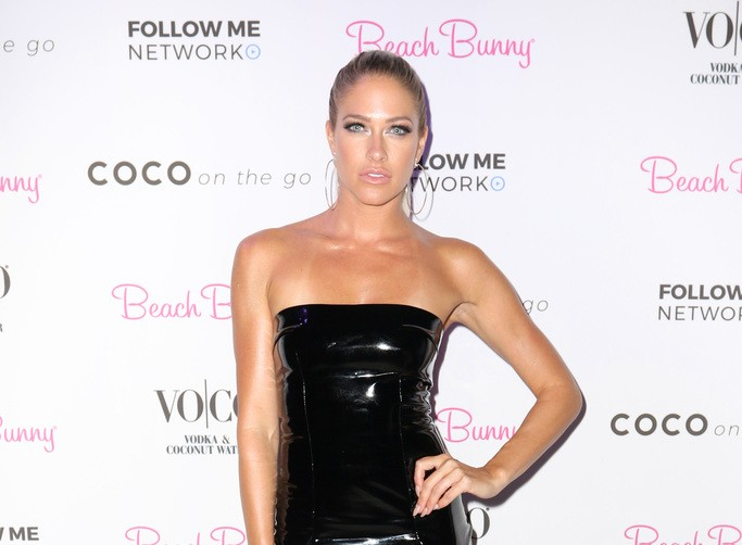 Barbie Blank at the Beach Bunny after party