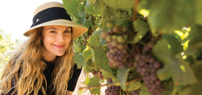 Barrymore Uncorked: The Actress Opens Up About Her Wine Labelng to her label
