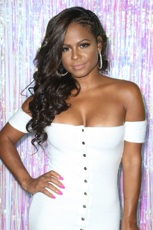 Christina Milian at Bollare's kick-start party