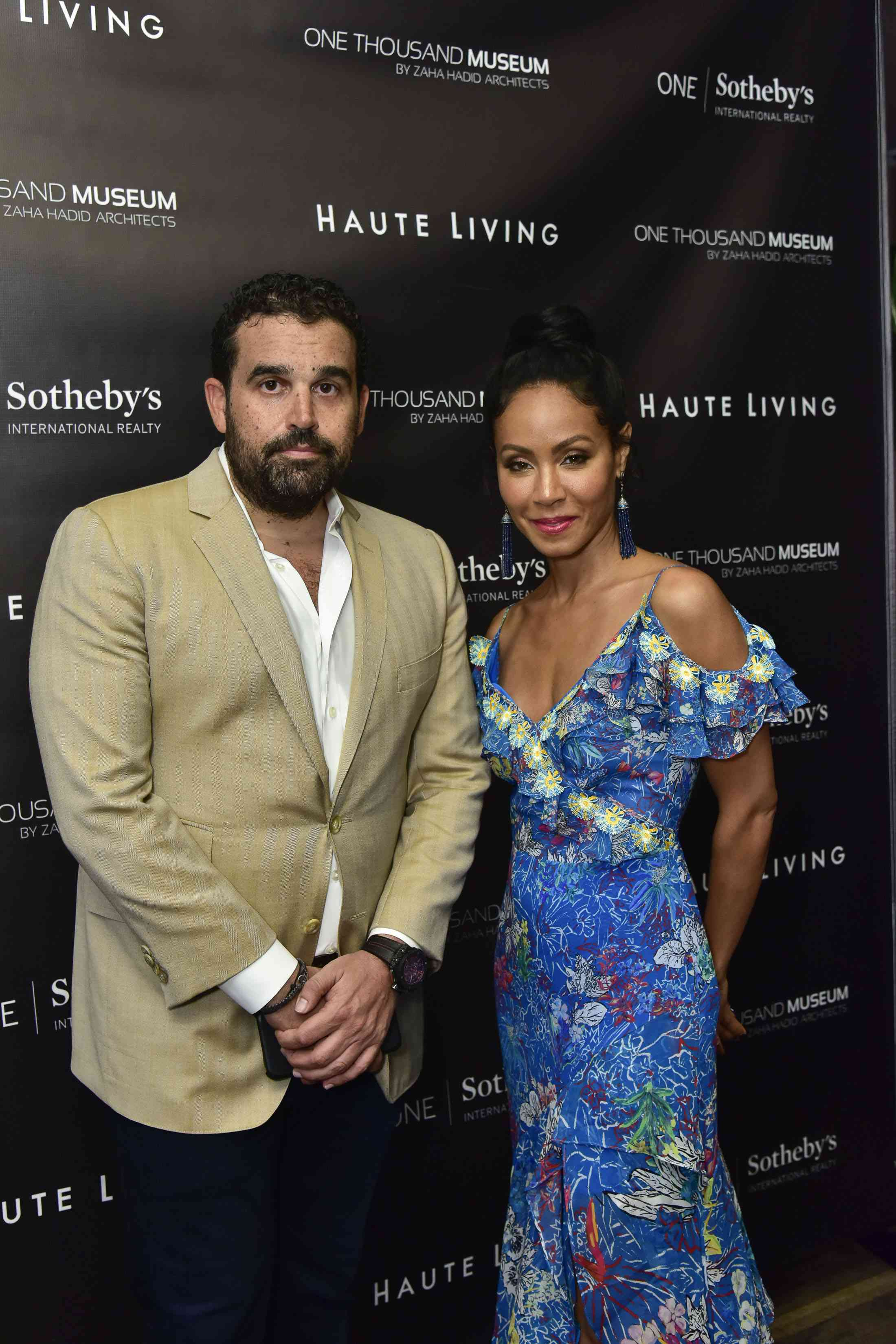 Seth Semilof and Jada Pinkett Smith