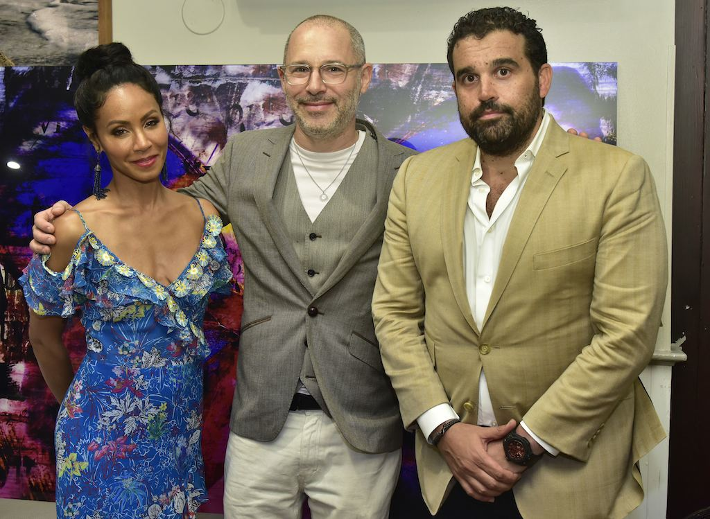 Jada Pinkett Smith, Paul Gerben and Seth Semilof