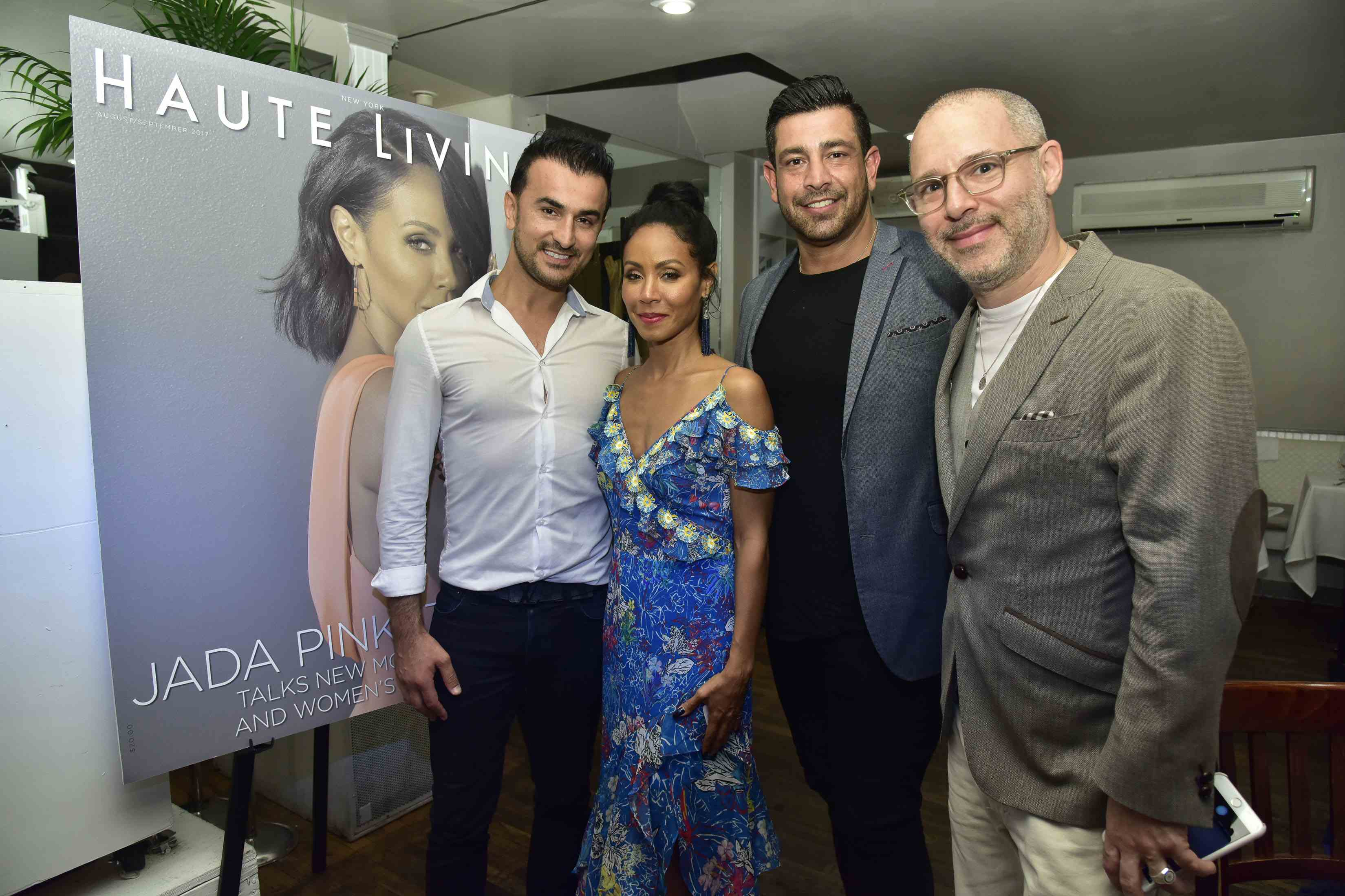Zach Erdem, Jada Pinkett Smith, Richie Husein and Paul Gerben