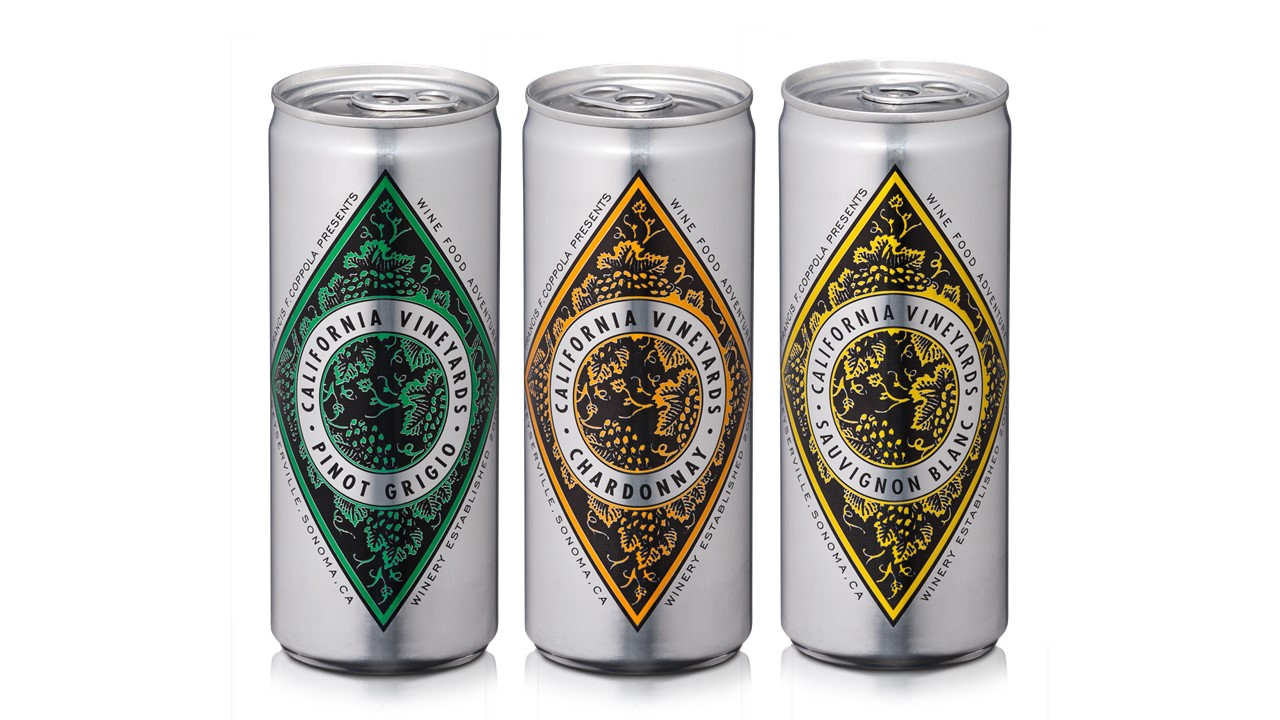 The new Diamond cans